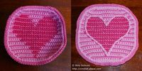 Crochet a Circle With a Heart Design