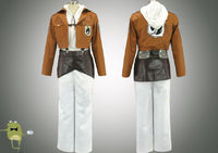 AOT Military Police Annie Leonhardt Cosplay Costume