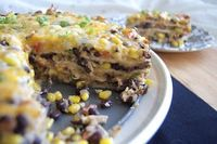 365 Days of Baking & More: Chicken, Black Bean and Tortilla Pie