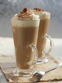 Christmas Drink: The Chocolate Milk Whip Recipe. Chocolate milk, Coffee, Whipped Cream and some chocolate shavings. Yum! http://www.whattodrink.com/drinkrecipes/10847-the-chocolate-milk-whip.asp