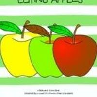 FREE beginning sound game. Check out Kindergarten Kiosk's complete apple unit today!