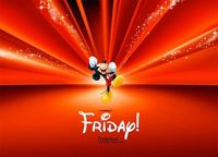 Friday! Are you ready for a Disney weekend! #Disney #MickeyMouse #Friday