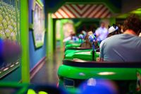 Defeat Zurg photographer: Lindsey Garrett location: Buzz Lightyear Astro Blasters