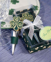 FashionCraft 1922 Shamrock / Trinity Love Knot Bottle Stoppers