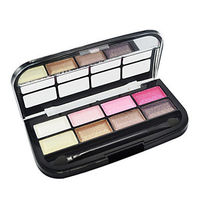 8 Colors Shimmer Eye Shadow Palette with Free Brush