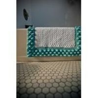 It would put a smile on my face to step onto this Robin's Egg Blue Bubble Bath Mat!