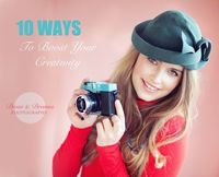10 ways to boost your creativity #christinagreve