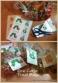Eric Carle Treat Bags - Hungry Caterpillar, Greedy Python & Brown Bear