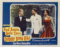 """Fred Astaire and Leslie Caron in """"Daddy Long Legs,"""""""