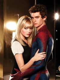 Peter Parker Gwen Stacy The Amazing Spiderman