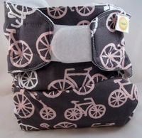 Love the bicycles! One-size Cloth Diaper Cover | NEET #clothdiapers