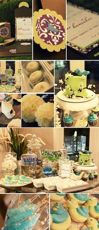 How Tweet It Is...bird themed baby shower...LOVE