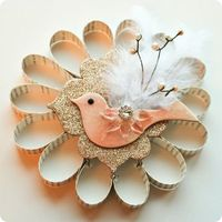 Beautiful Looped Paper Ornament