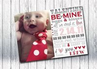 freebie - cute idea for Feb baby