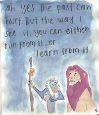 run from it, or learn from it. #lionking