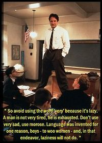 Dead Poets Society: introduction to poetry unit?