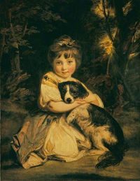 Miss Jane Bowles (1772-1812), 1775, by Joshua Reynolds. The Wallace Collection.