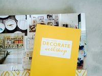 hooray: Decorate Workshop (A Peek) http://www.hoorayblog.com/2012/11/decorate-workshop-peek.html #decorateworkshop