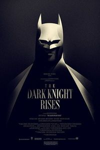 The Dark Knight Rises poster from Olly Moss.