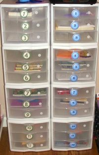 work boxes, have one for each student, when they finish their work they can go to their work box and pull out things to work on that the teacher has placed in there. (lets the teacher assign different things for the student/if they need extra practice...