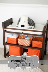 Changing Table Organization & Must-Haves!