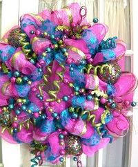 Mypinning - Holiday Deco Mesh Wreaths | Southern Charm Wreaths