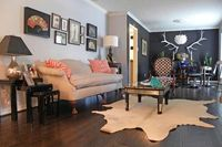 Dallas, TX: Lyndsey & Steve - eclectic - living room - dallas - Sarah Greenman
