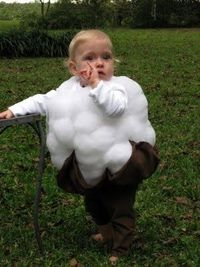 Cotton Boll Baby. Too cute