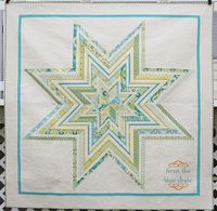 from the blue chair: Jumbo Star Quilt--Finished!