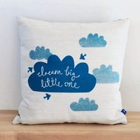 Robin & Mould Dream Big Little One Cushion