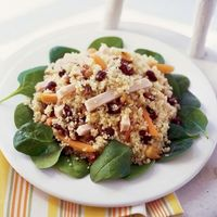 Couscous Salad with Turkey