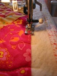 squaring up a quilt - tutorial.