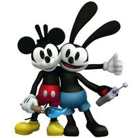 Mickey and Oswald are all about teamwork in Disney Epic Mickey 2: The Power of Two: http://di.sn/a6m