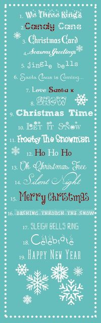 Best free Christmas fonts.