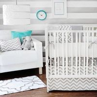 I adore this crib set! I need to find a cheaper version.