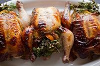 Post image for A Cozy Holiday: Herb Bouquet-Stuffed Cornish Hens, And The Little Lights All Around