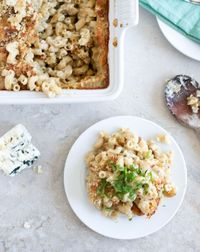 blue cheese Mac and cheese