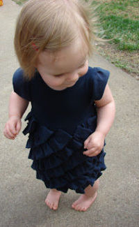 With love by Rach: Crewcuts Tea Cake Dress Knock-off & Tutorial
