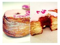 Cronuts...must figure out how to make this asap