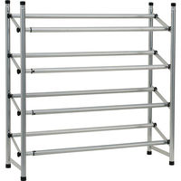 "Mainstays 4-Tier Shoe Rack 45L x 9D x 27""H"
