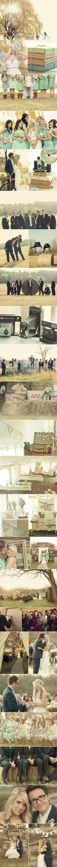 farm wedding - Click image to find more Weddings Pinterest pins