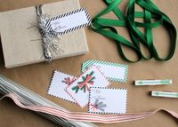 printable gift tags. sweetest occasion.