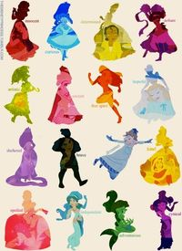 I'd say I'm a combination of Meg, Alice, Belle and Jane.
