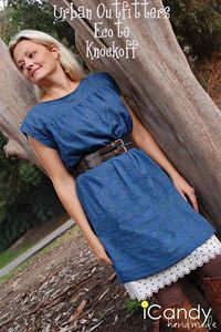 Urban Outfitters Ecote Dress Knockoff PATTERN from iCandy Handmade