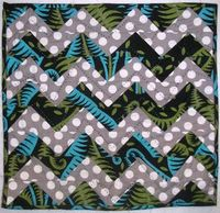 I don't even like chevron and I love this quilt!