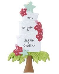Destination Wedding Ornament