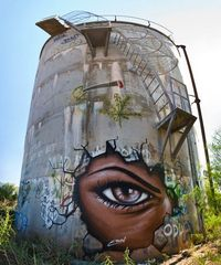 10 Street Art by Eoin 'The Target' Location Undisclosed Australia