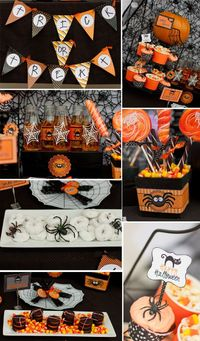 Spooktacular Halloween Spider Party! By Pizzazzerie
