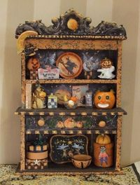 Lilliths Witchy Hutch - 1/12th scale!