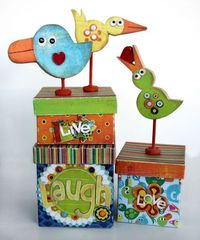 ~ funny little birds and boxes ~